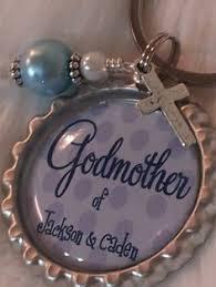 godmother keychain godmother keychain with godchildren s names godmother gift