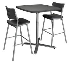 Plastic Bar Table Cafe Time Plastic Table U0026 Bar Stool By National Public Seating