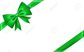 green gift bow gift bow ribbon silk green bow tie isolated white background