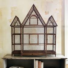 Birdcage Home Decor Rustic Home Decor From Iron Accents