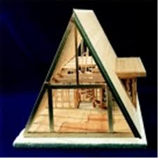 a frame cabin kit brodhead garrett a frame house framing kit walmart com