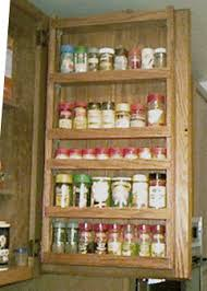 Kitchen Cabinet Door Spice Rack Door Mounted Spice Cabinets Door Mounted Spice Racks Custom