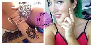 diy henna tattoo youtube