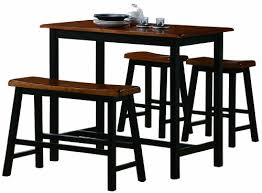 high table with stools amazon com crown mark tyler 4 piece counter height table set