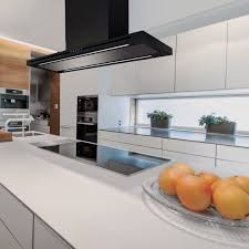 island extractor fans for kitchens island range with built in lighting la 90 linea isl