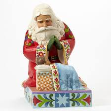 santa and baby jesus picture jim shore heartwood creek 4040896 santa with baby jesus statue