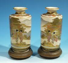 Antique Ceramic Vases 1900 1940 Antique Japanese Vases Ebay