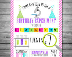 science birthday invitations science birthday party science