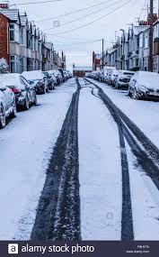 northton uk 17th january 2016 overnight snow which has fallen