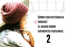 modelos modernos para gorras tejidas con patrones crochet