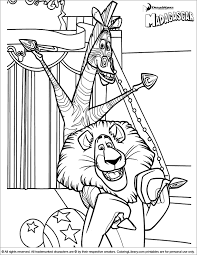 Penguins Madagascar Coloring Pages Coloring
