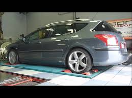 peugeot 407 coupe tuning reprogrammation moteur peugeot 407 sw 2 2 hdi 170 youtube