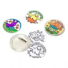 easter badges 4 pack