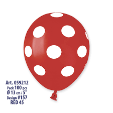 polka dot balloons mini polka dots balloons as50 5 inch 100 unit ballons