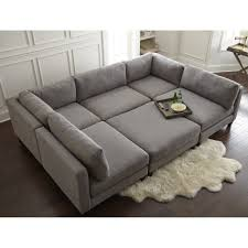 Stacey Leather Sectional Sofa Modular Sectional Sofa Costco Lovesac Covers Stacey Leather