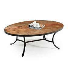 Oval Wood Coffee Tables Emerald Home Berkeley Rustic Wood Coffee Table With
