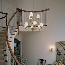 Foyer Chandelier Ideas Two Story Foyer Chandelier Ideas A Stately Lantern Style Light