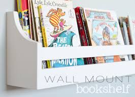 In Wall Bookshelves by Wall Mounted Bookshelves Kids Mapo House And Cafeteria