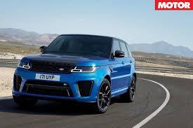 land rover sport cars 2018 range rover sport announced motor