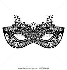 black and white masquerade masks masquerade mask stock images royalty free images vectors