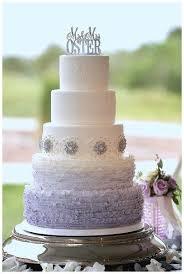 wedding cake palembang five tier ombre metallic wedding cake best metallic wedding