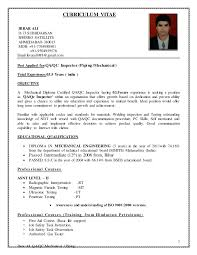 Qa Qc Inspector Resume Sample by Qc Inspector Resume Oil And Gas Contegri Com