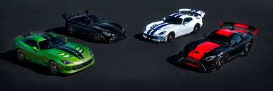 Dodge Viper Custom - the 2017 dodge viper commemorates 25 years with one final lap
