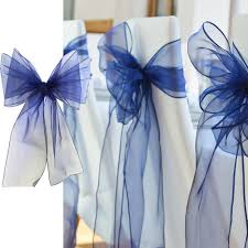 wedding chair bow organza chair cover sashes for wedding party
