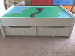train table plans nightstands awesome train table with trundle drawers build plans