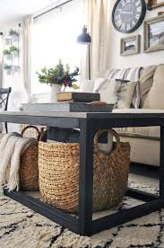 Coffee Bar Table Furniture Add Impact To Your Living Room Design With Farmhouse