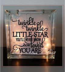 Twinkle Twinkle Little Star inspirational quote Custom 8