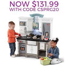 play kitchen from furniture lifestyle kitchen play kitchen step2