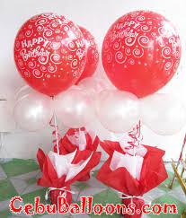 balloon centerpiece birthday balloon centerpiece white cebu balloons and