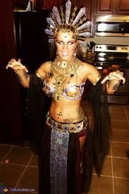 Egyptian Queen Halloween Costume Akasha Queen Damned Costume Homemade