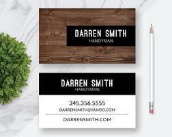 Business Cards Interior Design Custom Business Card Etsy