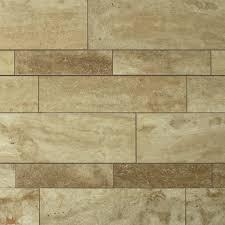 Plank Floor Tile English Walnut Travertine Plank Floor Tile Qdisurfaces