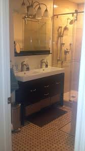 Small Bathroom Cabinet by Top 25 Best Small Double Vanity Ideas On Pinterest Double Sink