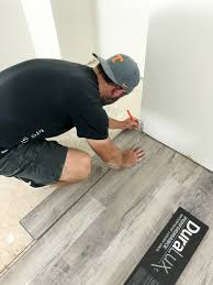 can you put cabinets on a floating vinyl floor how to install luxury vinyl plank flooring bower power