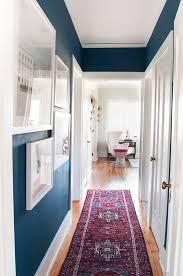 3 easy steps to a hallway makeover coco kelley hallways blue