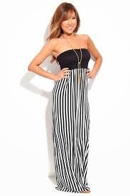 black and white maxi dress black and white stripe maxi dress