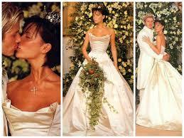 beckham wedding dress iconic wedding dresses