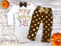 1st thanksgiving 1st thanksgiving onesie baby
