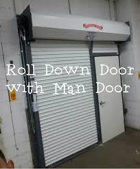 Overhead Rolling Doors Roll Door With Door