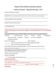 Vendor Contract Template 9 Download 28 Vendor Agreement Template Vendor Contract Template Create A
