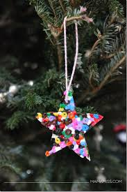 10 days of a kid made christmas melted bead ornament melted