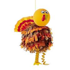 a unique thanksgiving craft turkey pinata omg