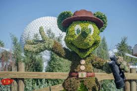 Mickey Mouse Topiary Epcot Flower U0026 Garden Details 2016 Blog Mickey