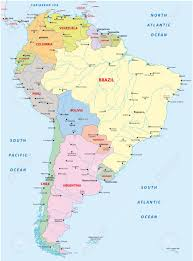 Maps Of South America South America Map Royalty Free Cliparts Vectors And Stock