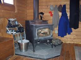 Kitchen Queen Wood Stove by Mountain Queen Cabin Camp Earth Connection Campground Retreat
