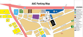 aac map parking airlines center